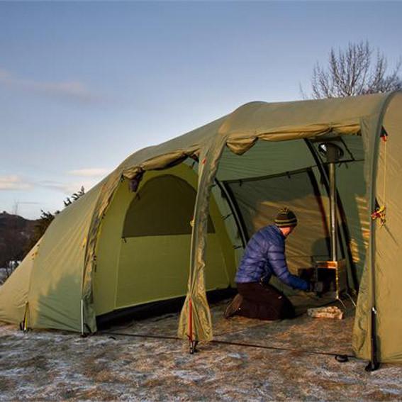 Helsport lavvu tipi kookvuur tent Noorwegen Helsport