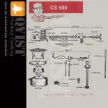 Coleman CS 500 (Originele onderdelen)