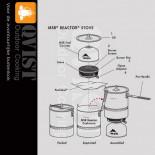MSR Reactor Stove (Orginele onderdelen)