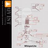 MSR Whisperlite (Orginele onderdelen)