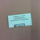 Instructions Optimus 111C