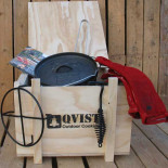 QVIST Outdoor Cooking Dutch Oven Starter Kit 1-